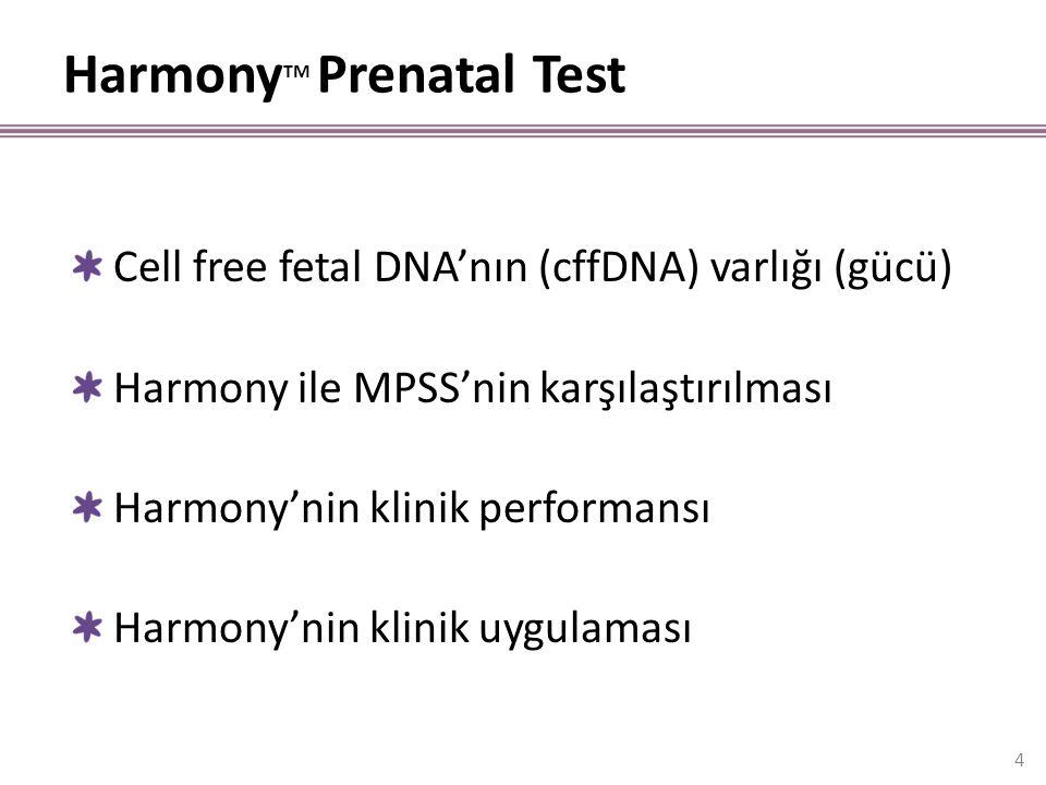 HarmonyTM Prenatal Test
