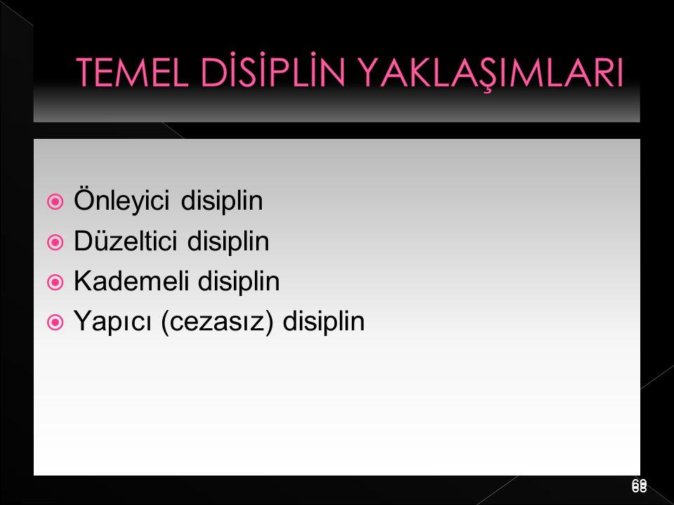 Yapıcı (cezasız) disiplin