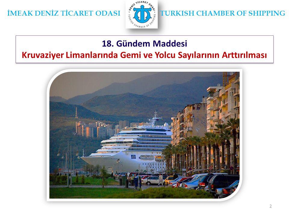 Kruvaziyer Limanlarında Gemi ve Yolcu Sayılarının Arttırılması