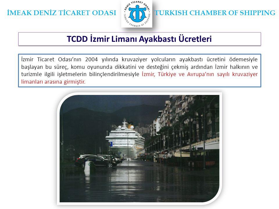 TCDD İzmir Limanı Ayakbastı Ücretleri
