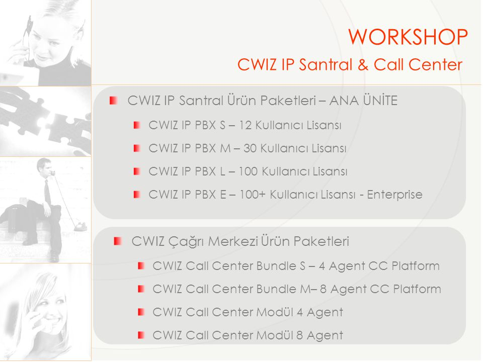 WORKSHOP CWIZ IP Santral & Call Center