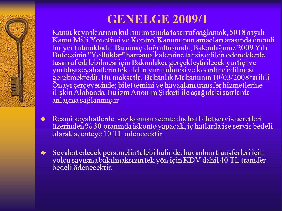 GENELGE 2009/1