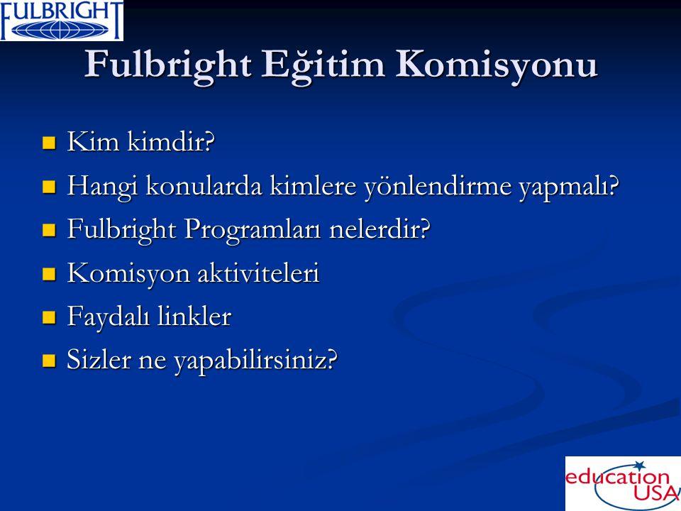 Fulbright Eğitim Komisyonu