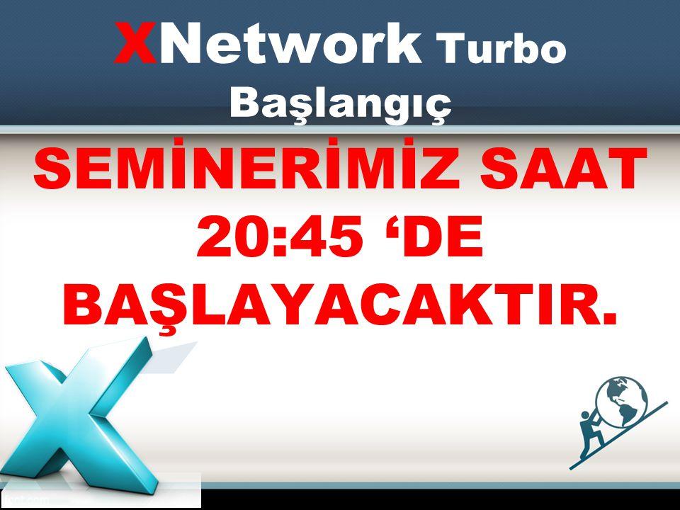 XNetwork Turbo Başlangıç