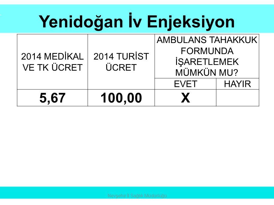 Yenidoğan İv Enjeksiyon