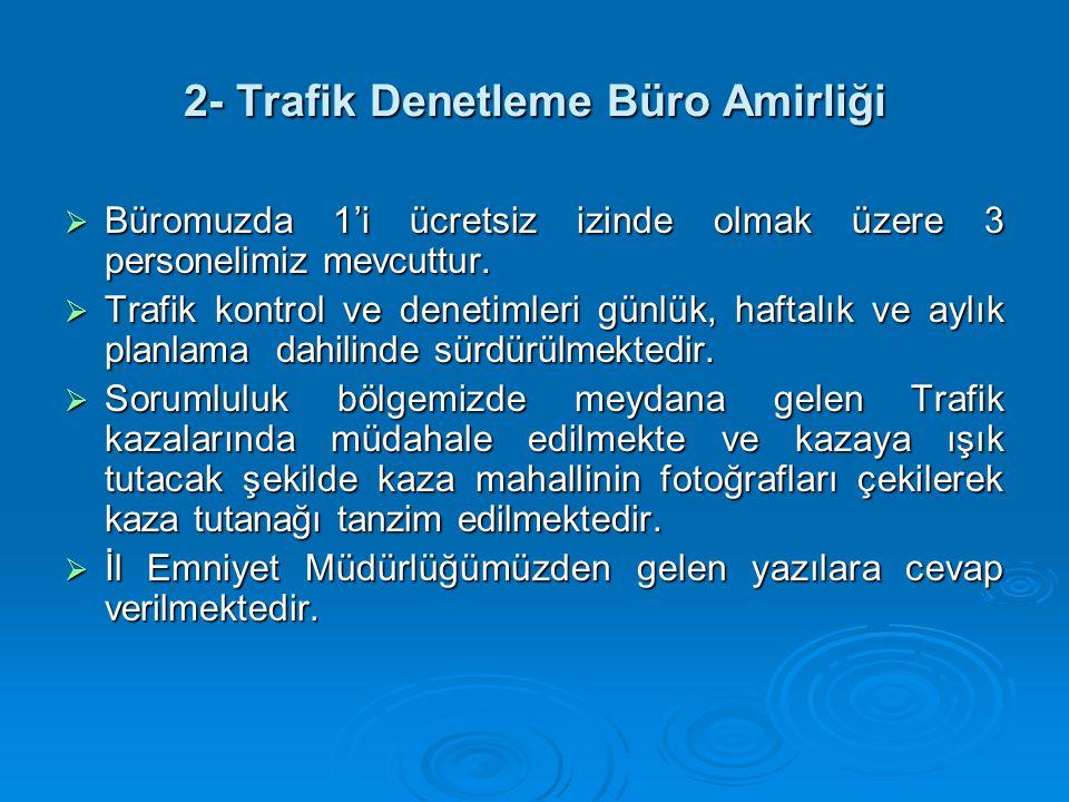 2- Trafik Denetleme Büro Amirliği