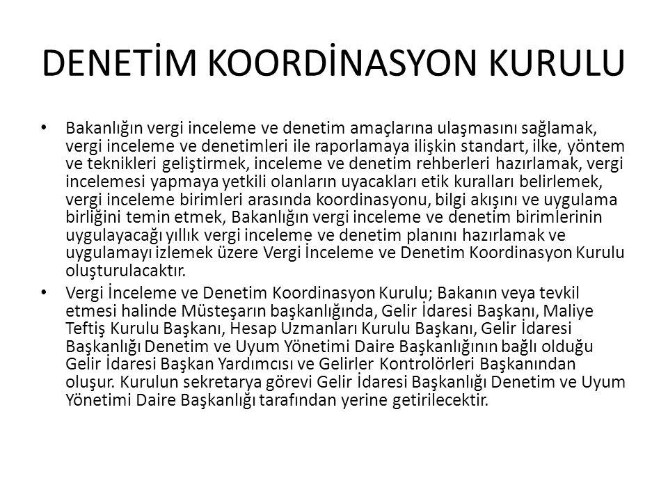 DENETİM KOORDİNASYON KURULU
