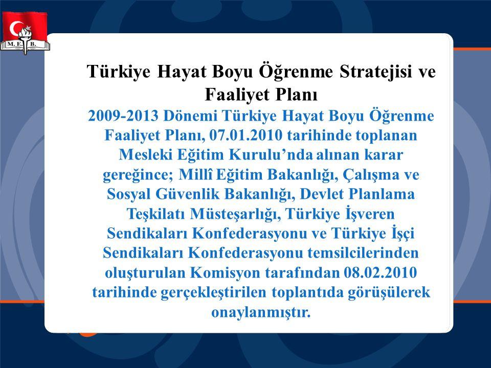 Türkiye Hayat Boyu Öğrenme Stratejisi ve Faaliyet Planı