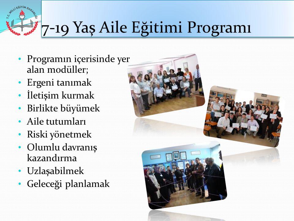 7-19 Yaş Aile Eğitimi Programı