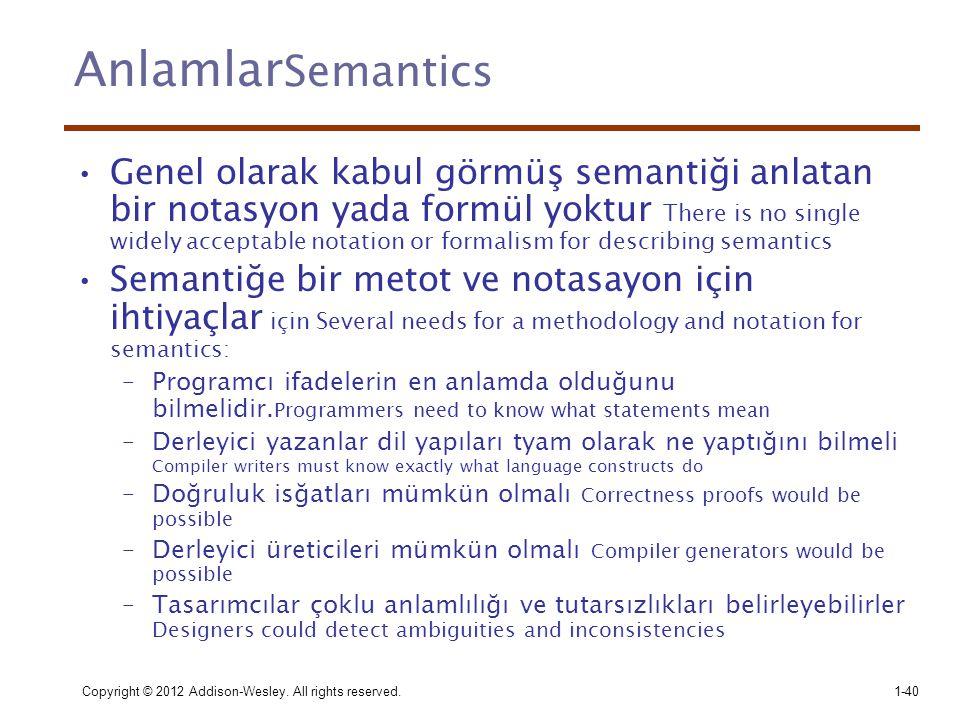 AnlamlarSemantics