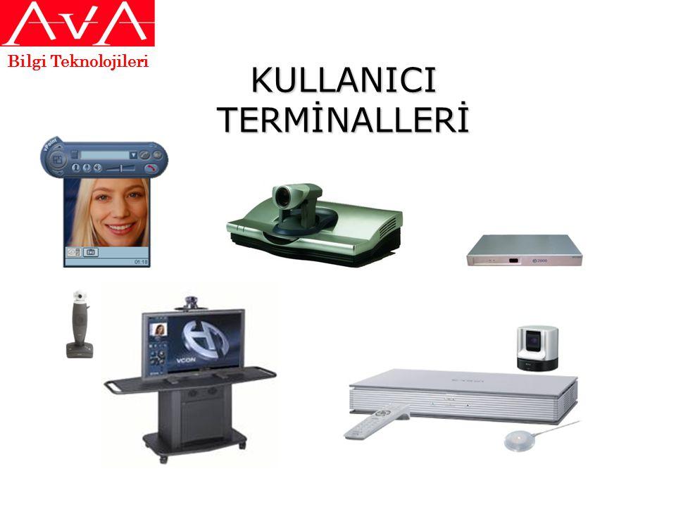 KULLANICI TERMİNALLERİ