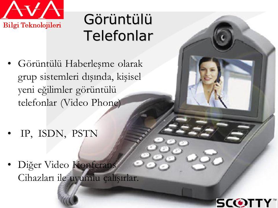 Bilgi Teknolojileri Görüntülü Telefonlar.