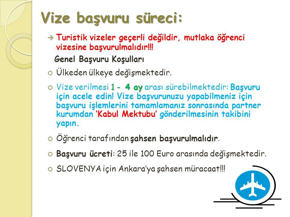 Vize başvuru süreci: Turistik vizeler geçerli değildir, mutlaka öğrenci vizesine başvurulmalıdır!!!