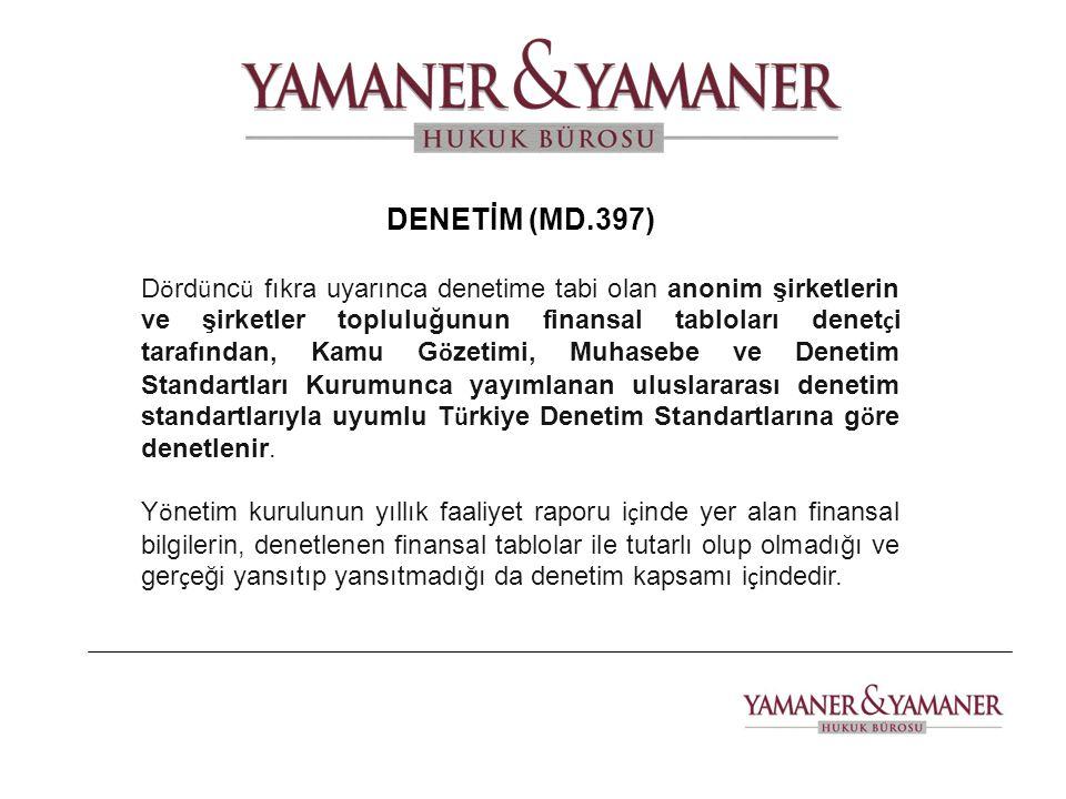 DENETİM (MD.397)