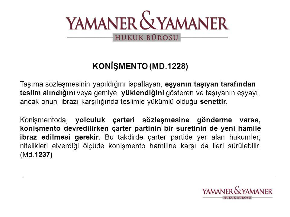 KONİŞMENTO (MD.1228)