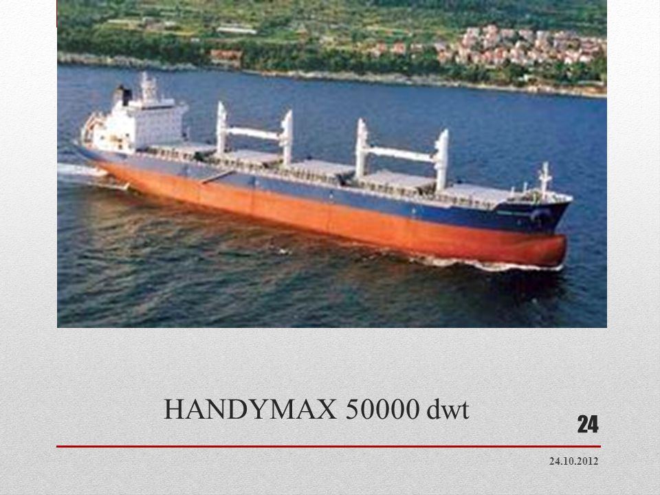 HANDYMAX 50000 dwt 24.10.2012