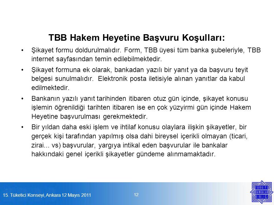 TBB Hakem Heyetine Başvuru Koşulları: