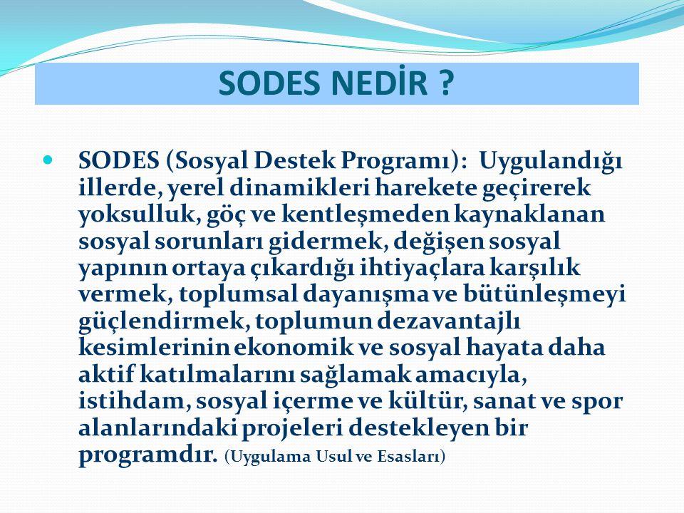 SODES NEDİR