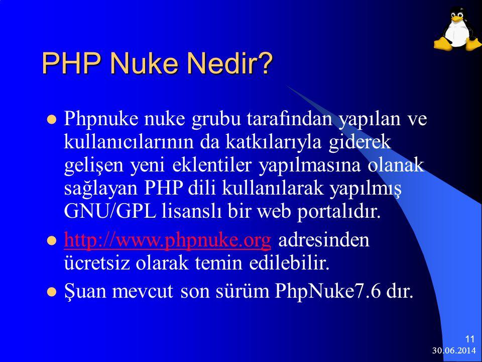 PHP Nuke Nedir