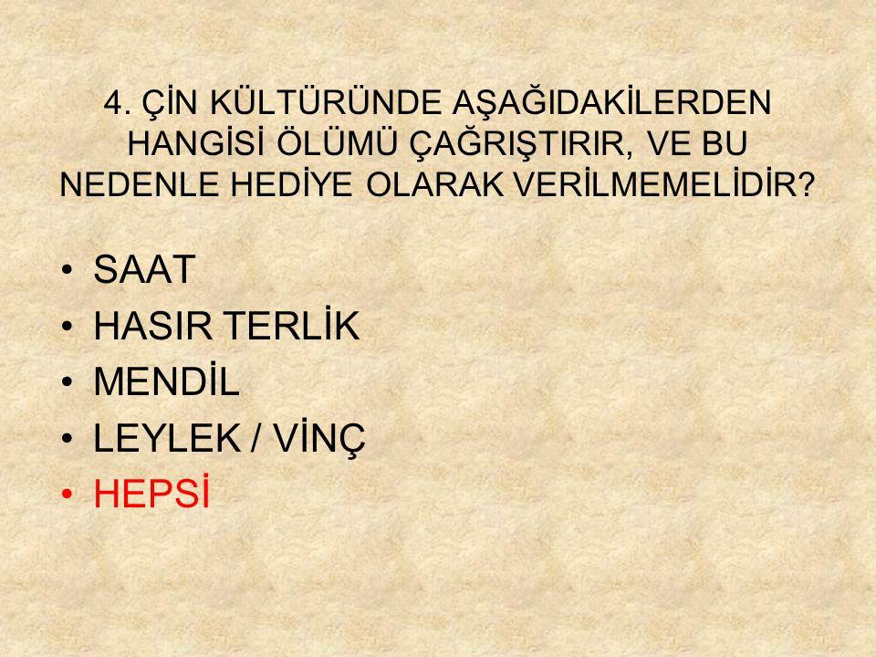 SAAT HASIR TERLİK MENDİL LEYLEK / VİNÇ HEPSİ
