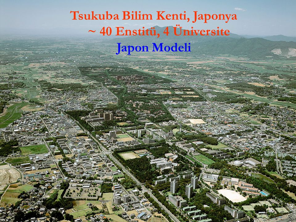 Tsukuba Bilim Kenti, Japonya