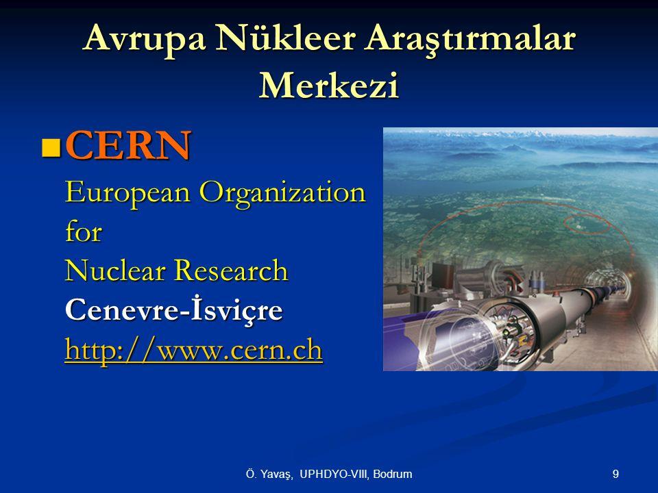 Avrupa Nükleer Araştırmalar Merkezi