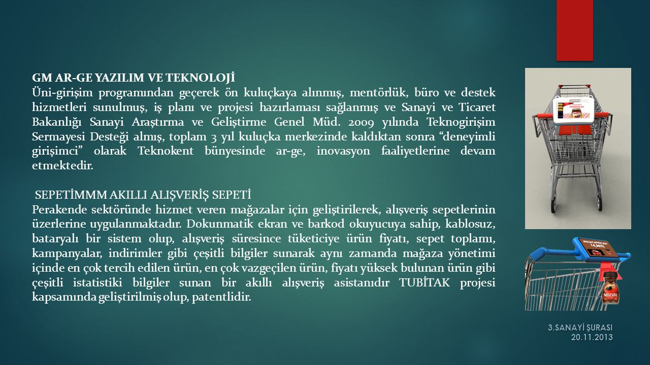 GM AR-GE YAZILIM VE TEKNOLOJİ