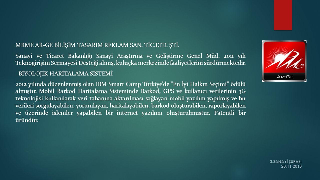 MRME AR-GE BİLİŞİM TASARIM REKLAM SAN. TİC.LTD. ŞTİ.