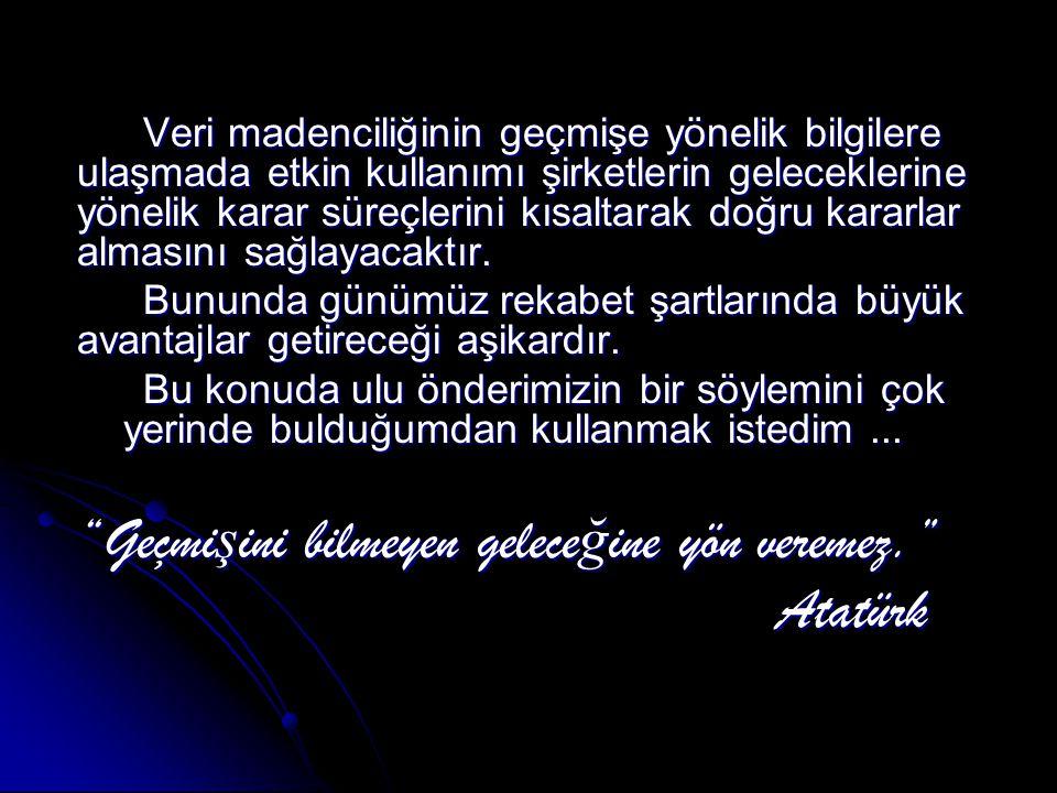 Geçmişini bilmeyen geleceğine yön veremez. Atatürk