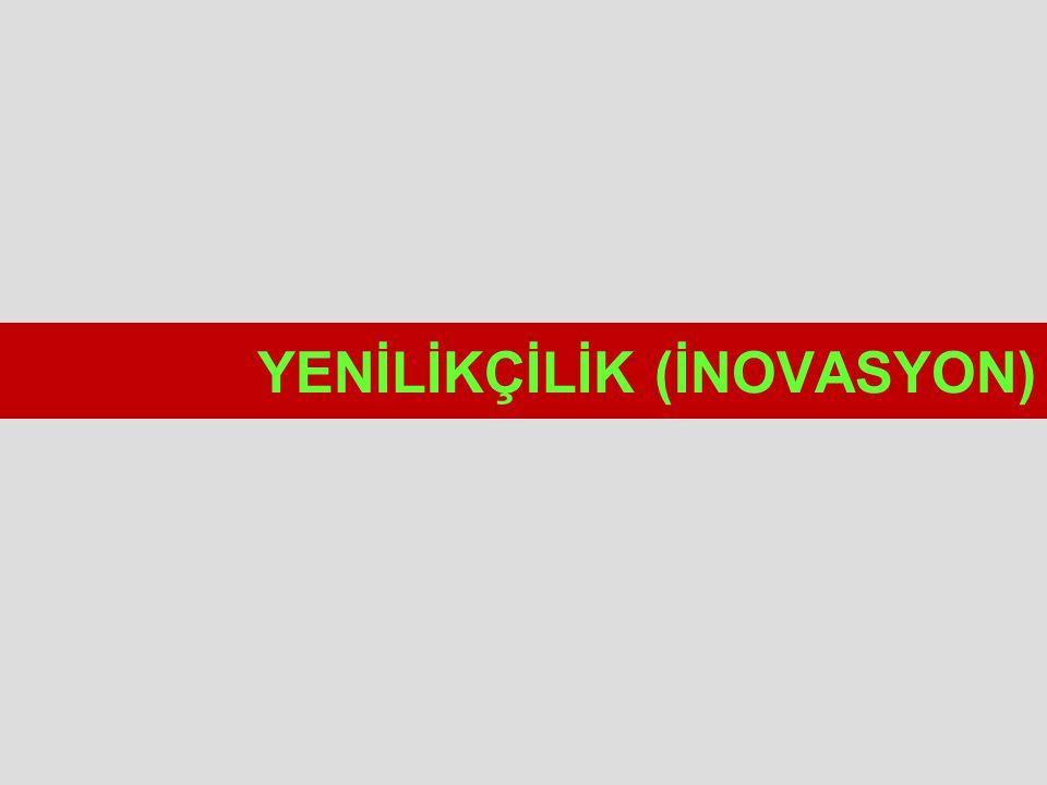 YENİLİKÇİLİK (İNOVASYON)