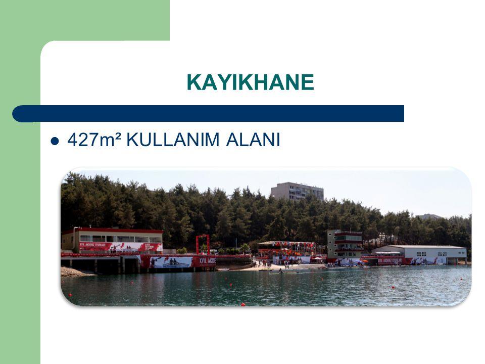 KAYIKHANE 427m² KULLANIM ALANI
