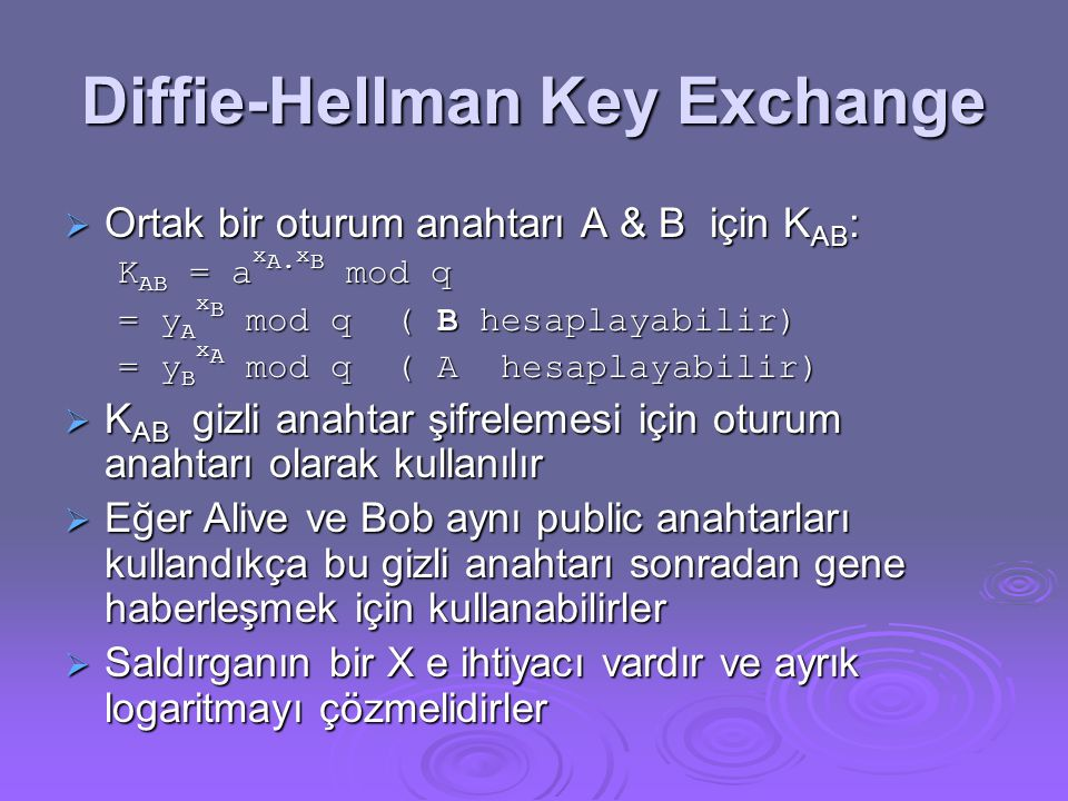 Diffie-Hellman Key Exchange