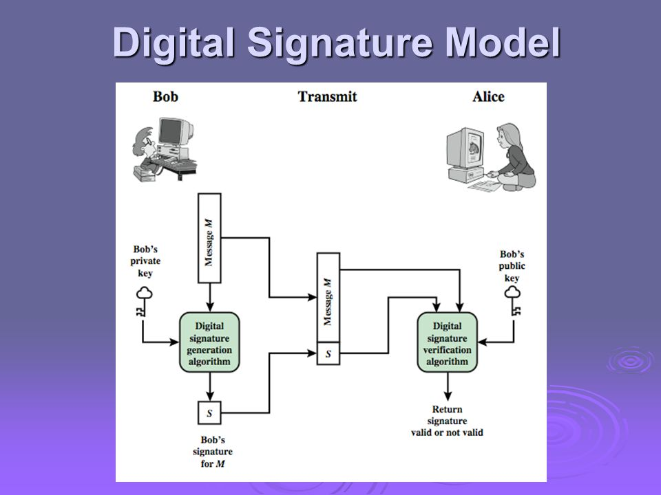 Digital Signature Model