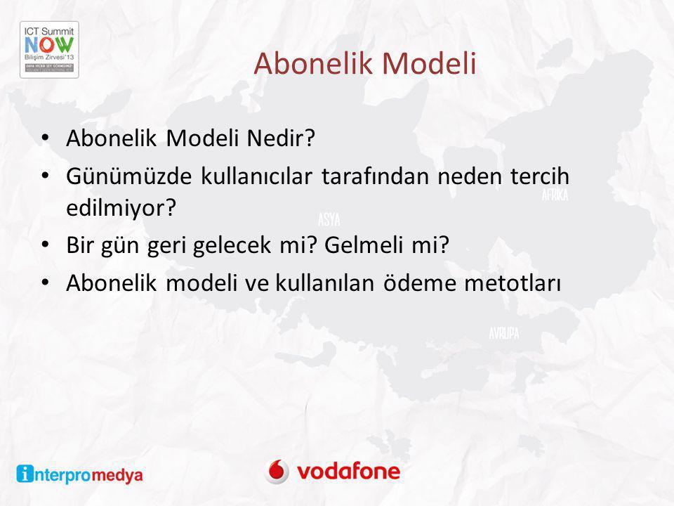 Abonelik Modeli Abonelik Modeli Nedir