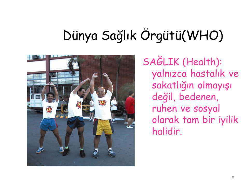 Dünya Sağlık Örgütü(WHO)