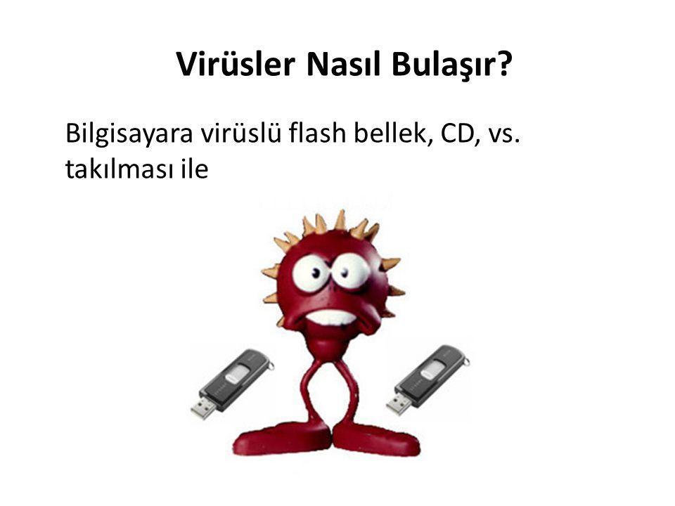 Virüsler Nasıl Bulaşır