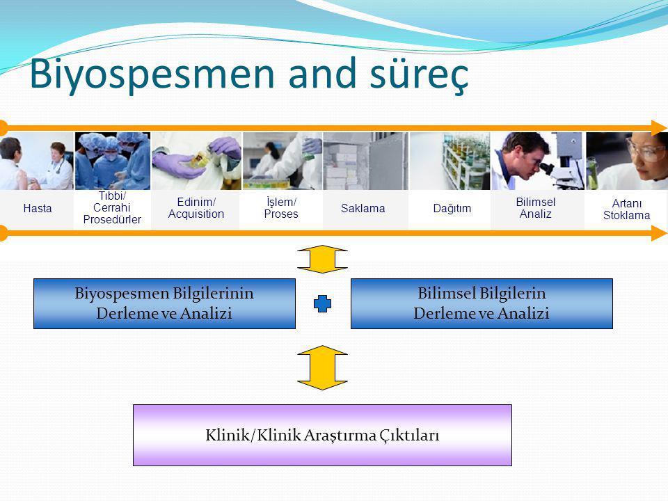 Biyospesmen and süreç Biyospesmen Bilgilerinin Derleme ve Analizi