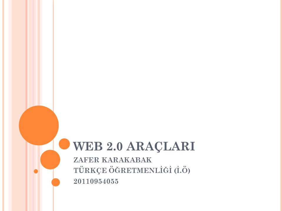 ZAFER KARAKABAK TÜRKÇE ÖĞRETMENLİĞİ (İ.Ö) 20110954055