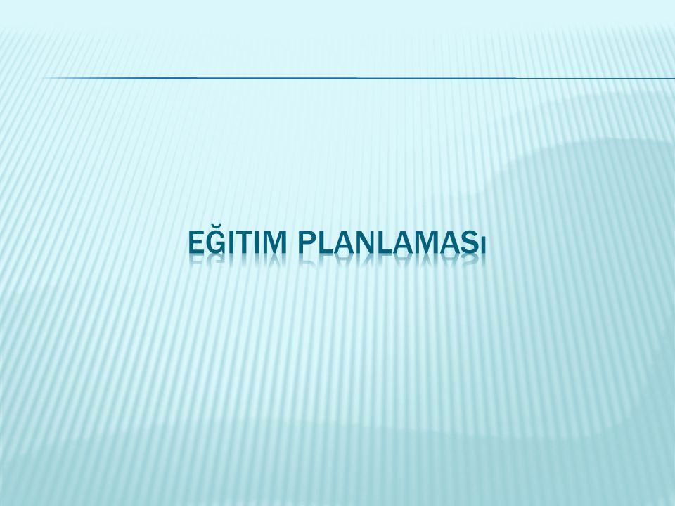 Eğitim Planlaması