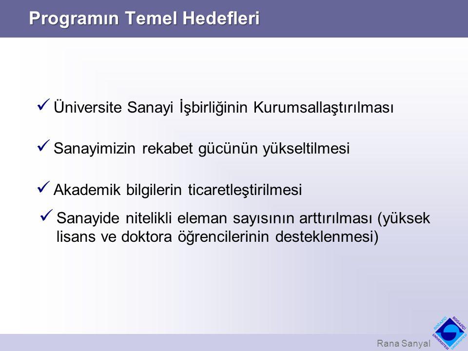 Programın Temel Hedefleri