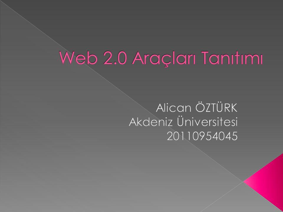 Alican ÖZTÜRK Akdeniz Üniversitesi 20110954045
