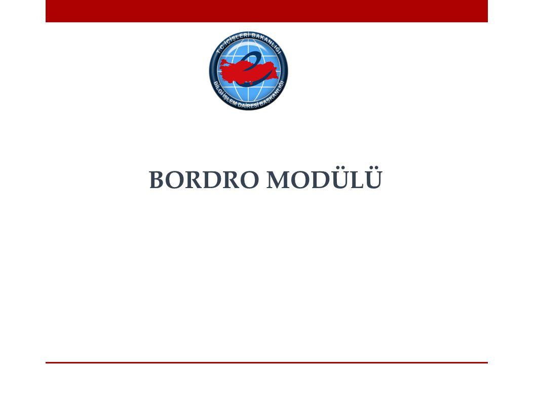 BORDRO MODÜLÜ