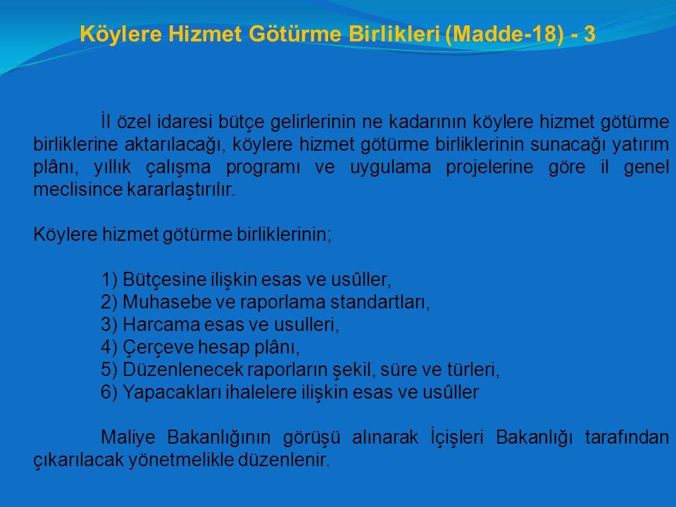 Köylere Hizmet Götürme Birlikleri (Madde-18) - 3
