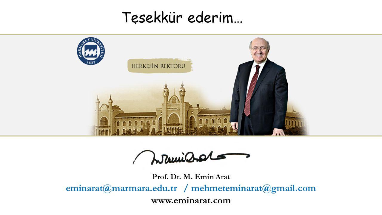eminarat@marmara.edu.tr / mehmeteminarat@gmail.com