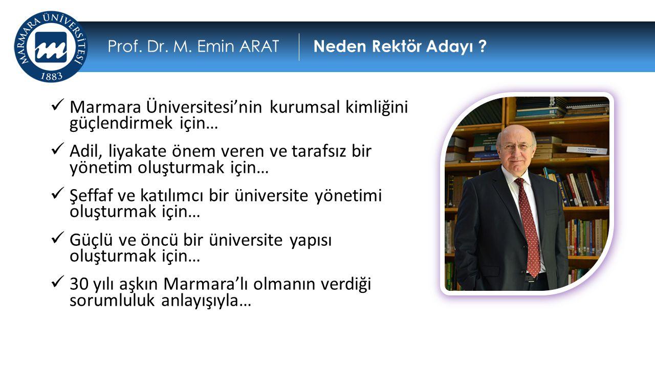 Marmara Üniversitesi'nin kurumsal kimliğini güçlendirmek için…