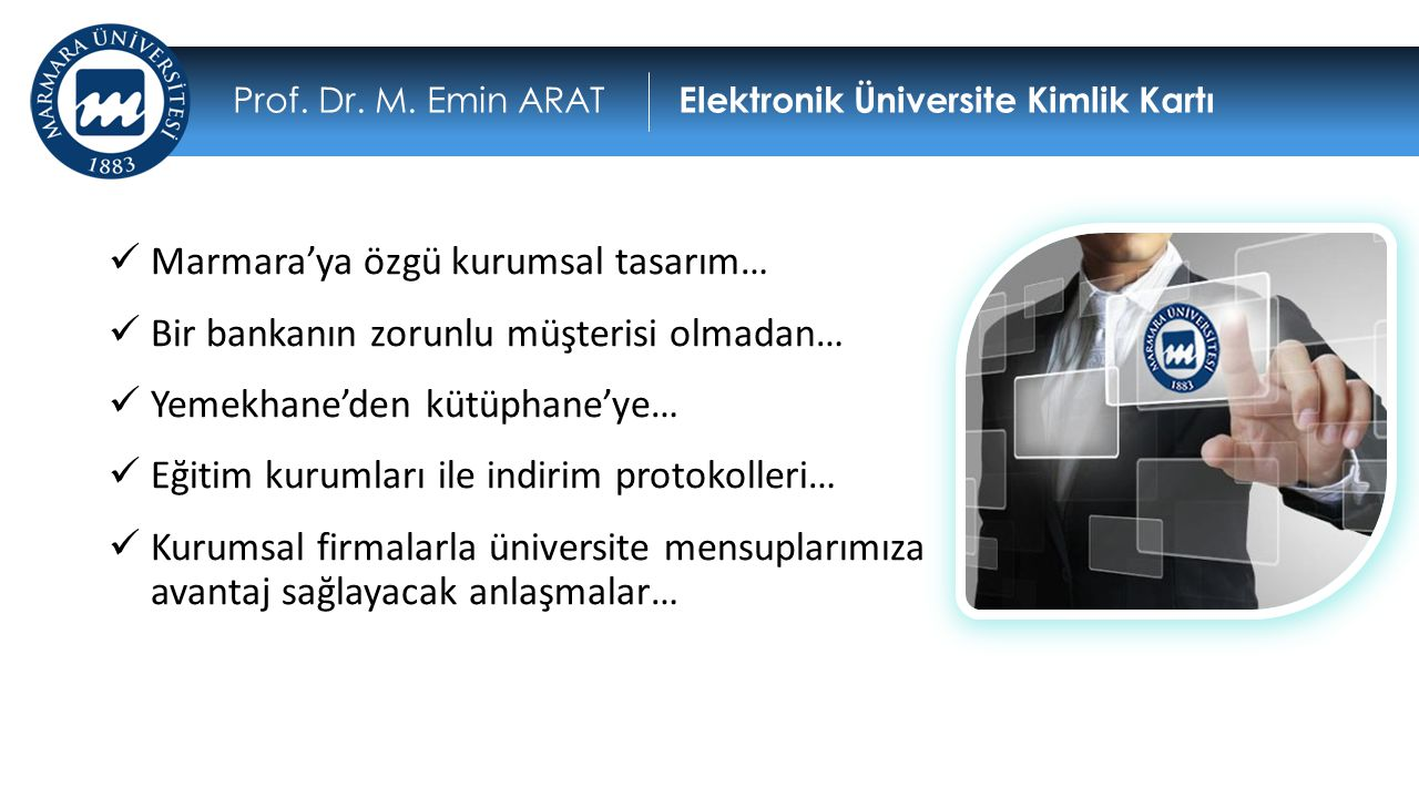 Marmara'ya özgü kurumsal tasarım…