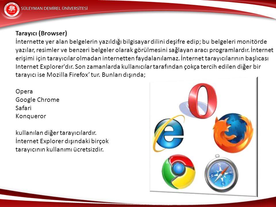 Tarayıcı (Browser)