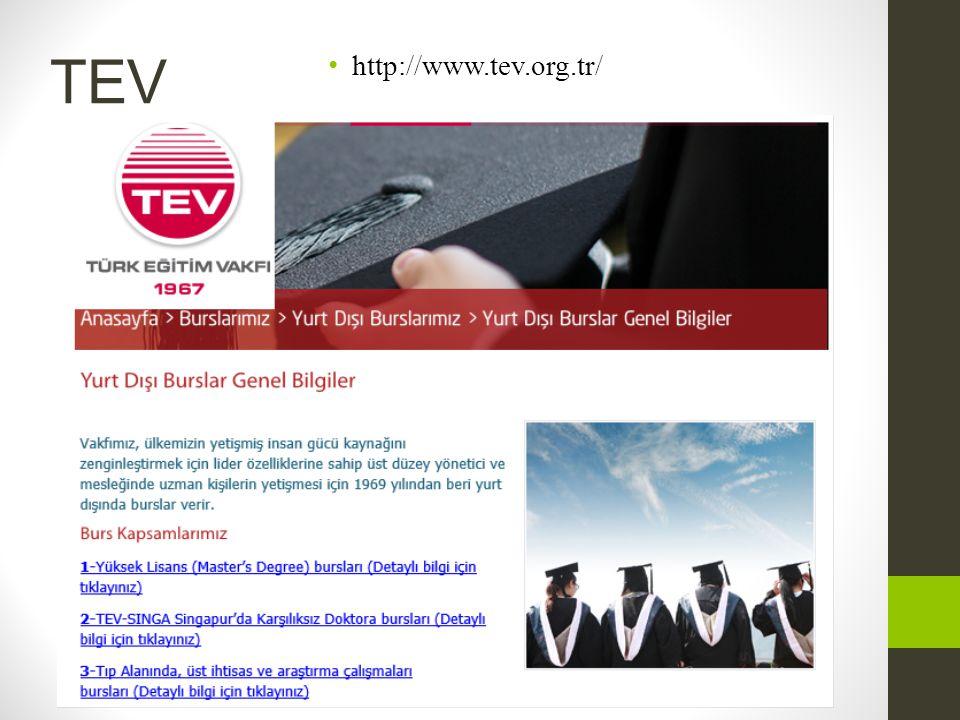 TEV http://www.tev.org.tr/