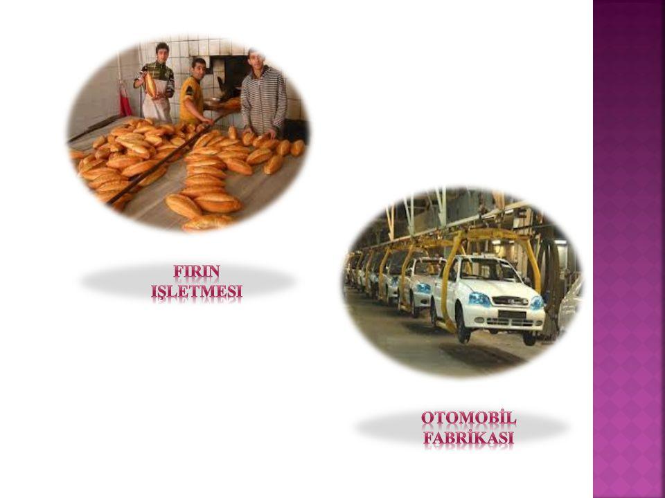 FIrIn işletmesi OTOMOBİL FABRİKASI
