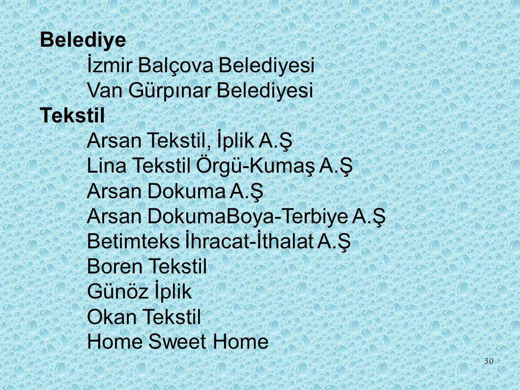 Belediye İzmir Balçova Belediyesi